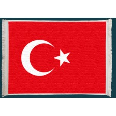 Türk Bayrağı Duvar Kilimi